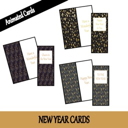 New Year Cards by Unite Codes