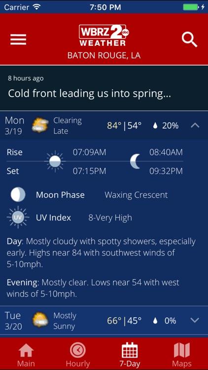 WBRZ Weather screenshot-3