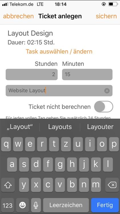 TimeTicket screenshot-3