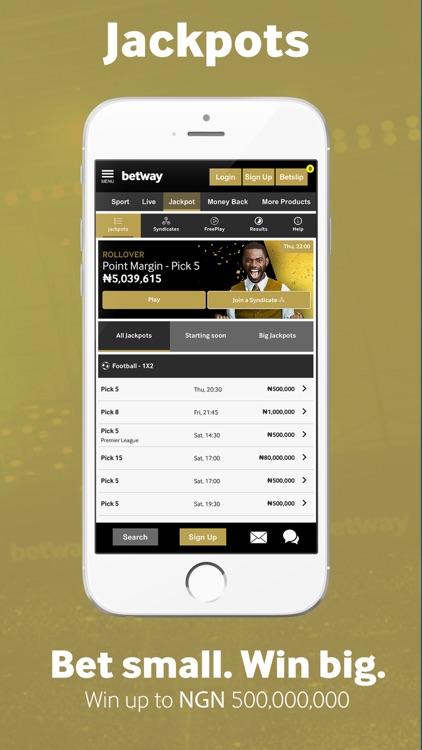 Betway Sports Betting screenshot-5