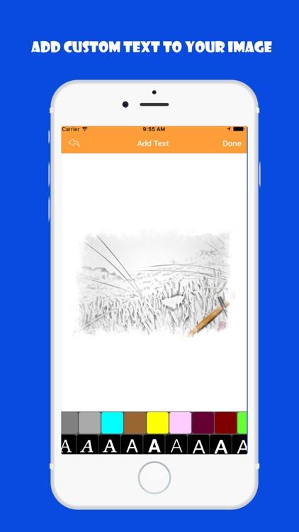 Photo Sketch + Pencil drawing