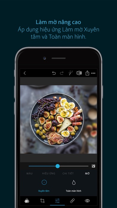 Screenshot for Adobe Photoshop Express in Viet Nam App Store