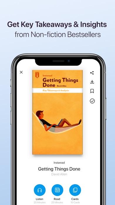 Instaread - Audio & Text Screenshot