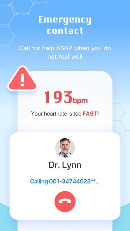 Heart Rate Me-Home Pulse Track screenshot-6