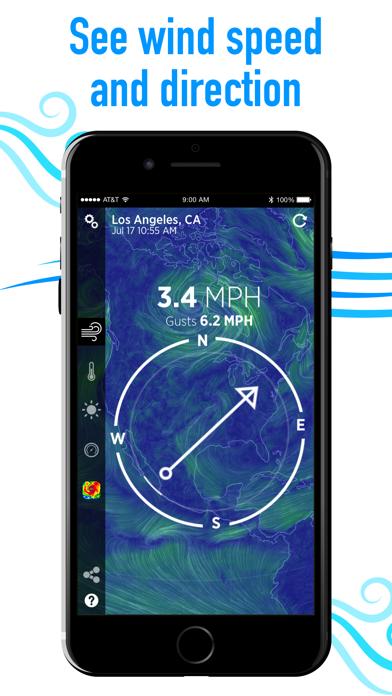 Wind Compass Screenshot