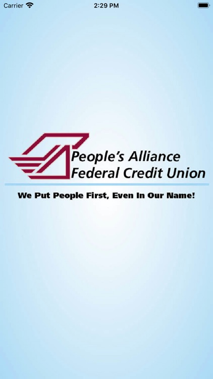 People's Alliance FCU Mobile