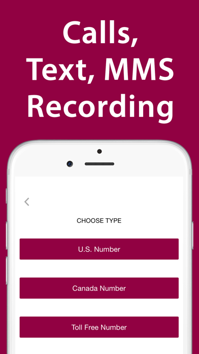 iPlum: 2nd Business Phone Line Screenshot