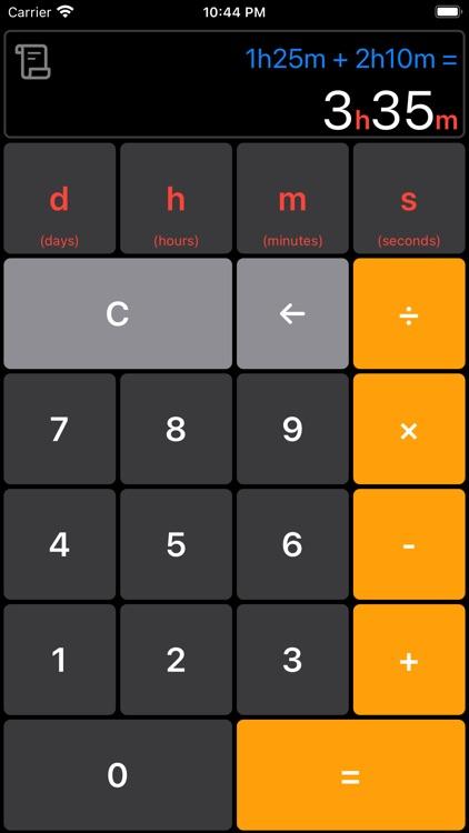 Time Calculator Simple&Easy screenshot-7