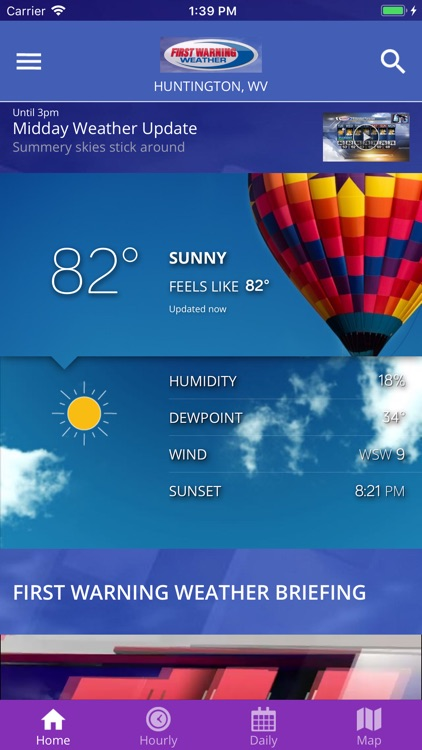 WSAZ First Warning Weather App
