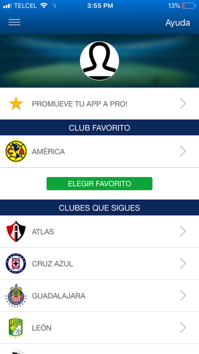 Liga BBVA MX App Oficial screenshot three