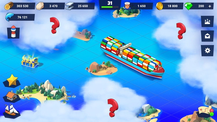 Sea Port: City Ship Tycoon screenshot-3