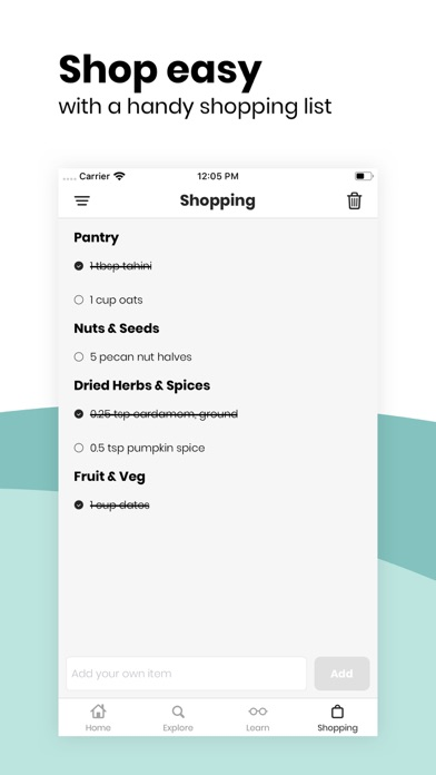 Fivesec Health - Healthy Vegan Screenshot