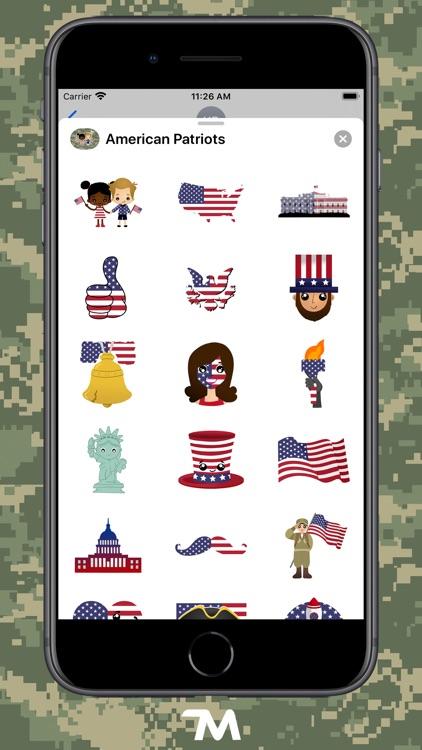 American Patriots Stickers