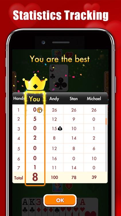 Hearts : Classic Card Games screenshot-6