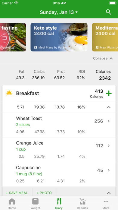 Calorie Counter by FatSecret wiki review and how to guide
