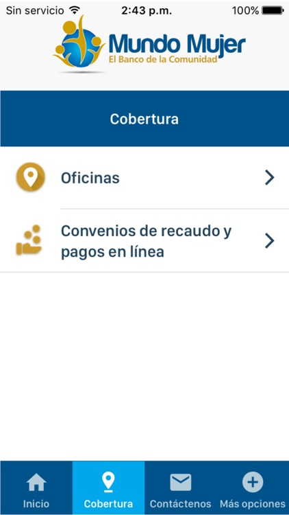 Banco Mundo Mujer screenshot-4