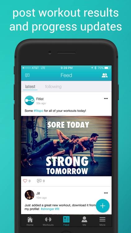 Fitlist - Gym Workout Log screenshot-5