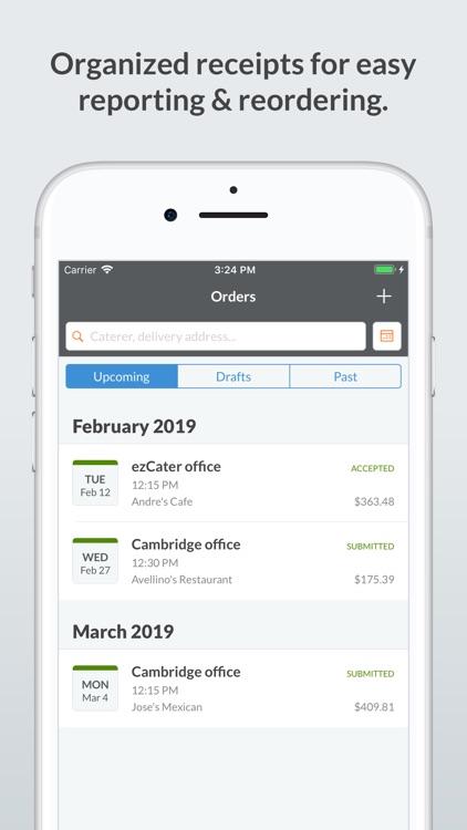 ezCater - Business Catering screenshot-4