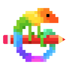 Pixel Art - Colour by Numbers