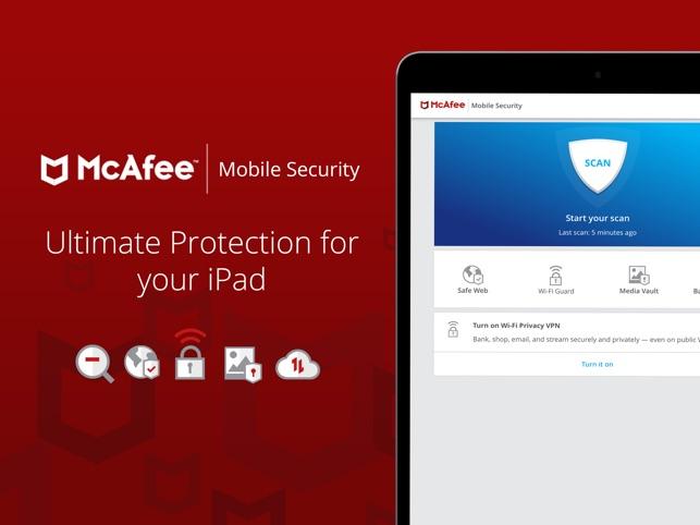 mcafee mobile antivirus free download