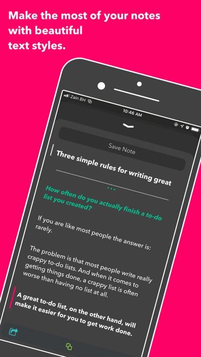 Nural - tasks, notes & chat ScreenShot5