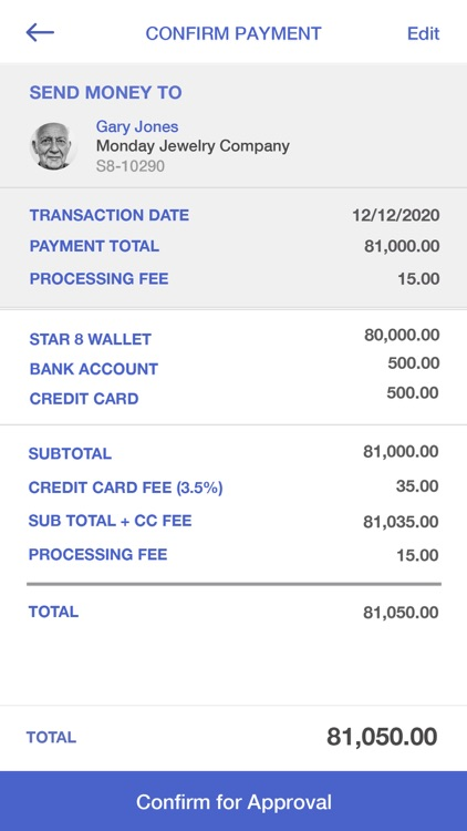STAR8Wallet: secure payments screenshot-7