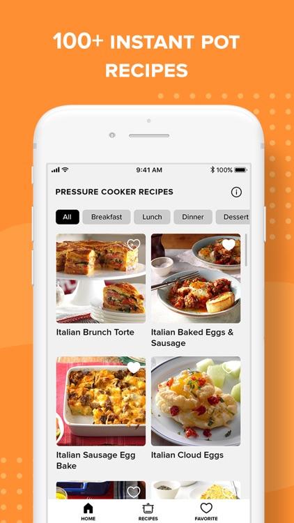 Insta Pressure Cooker Recipes