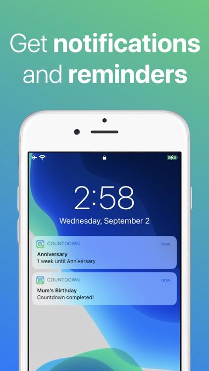 Countdown screenshot-3