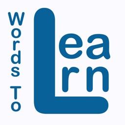 WordsToLearn