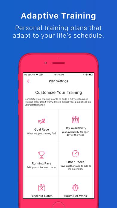 Run With Hal - Training Plans ScreenShot2