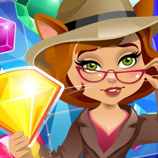 Детектив с алмазами три в ряд