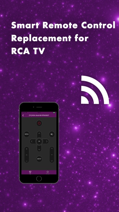 Smart Remote Control 4 RCA TV Screenshots