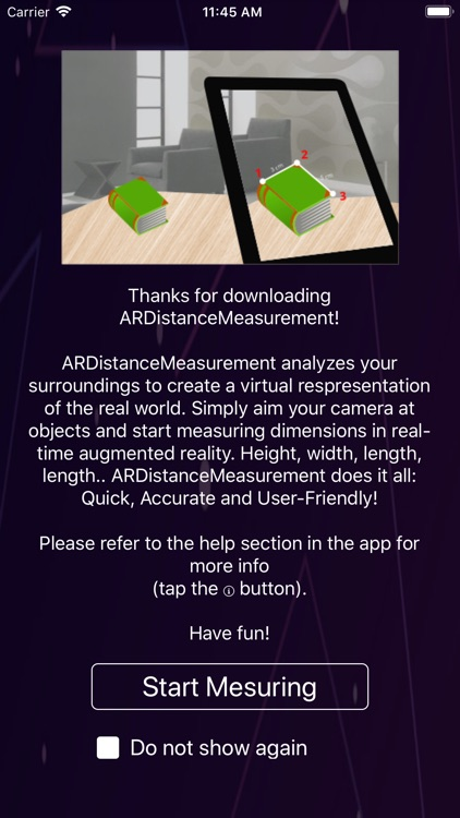 Easy Distance Measure AR