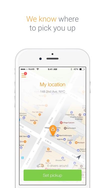 Saytaxi - Get a cab now! screenshot-4