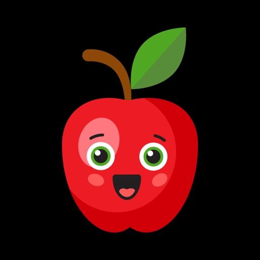 Fruit Emojis Fun Stickers SMS