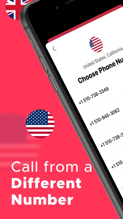 Change Phone Number with Numbr screenshot-0