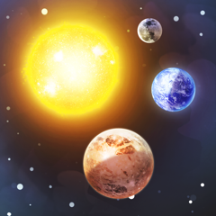 3D Solar System: Planets view