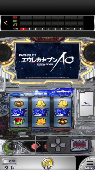 パチスロエウレカセブンAO【777NEXT】のスクリーンショット2