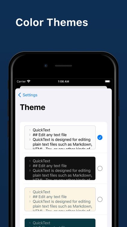 QuickText - Plain Text Editor