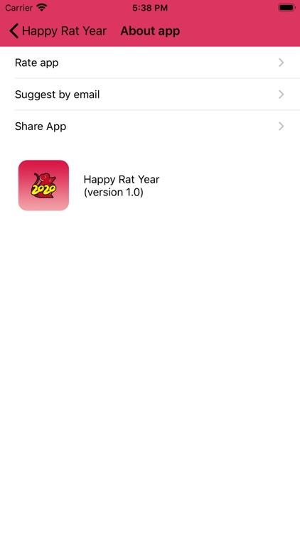Happy Chinese Rat Year