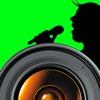 ライブビデオレコーディング - グリーンスクリーン