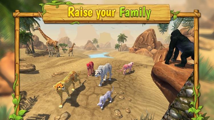 Cheetah Family Sim : Wild Cat