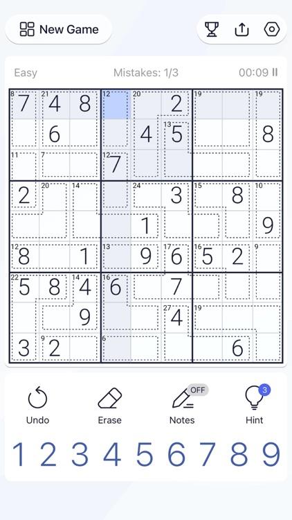 Killer Sudoku - Puzzle Games screenshot-5