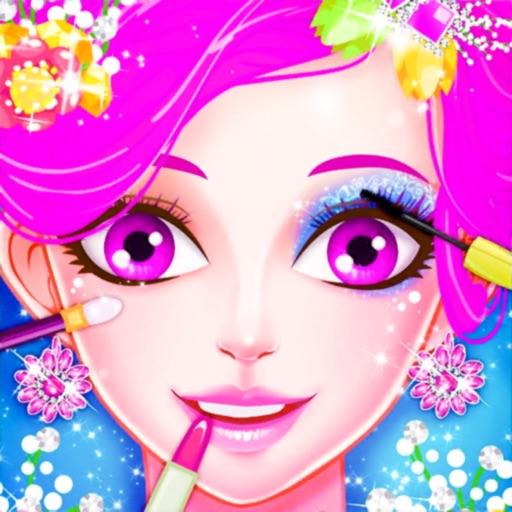 Princess Dress Up Time Make up