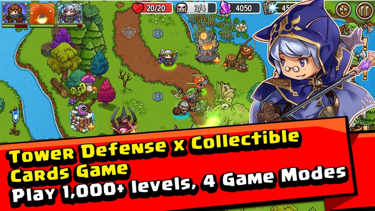 Crazy Defense Heroes: Epic TD screenshot-0