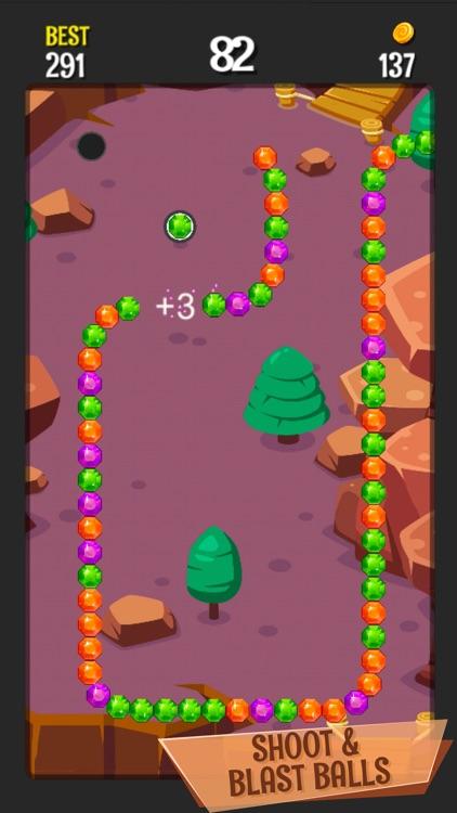 Shoot Color Balls: Bubble Game