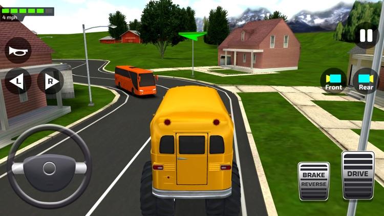 School Bus Simulator Game 3D screenshot-8