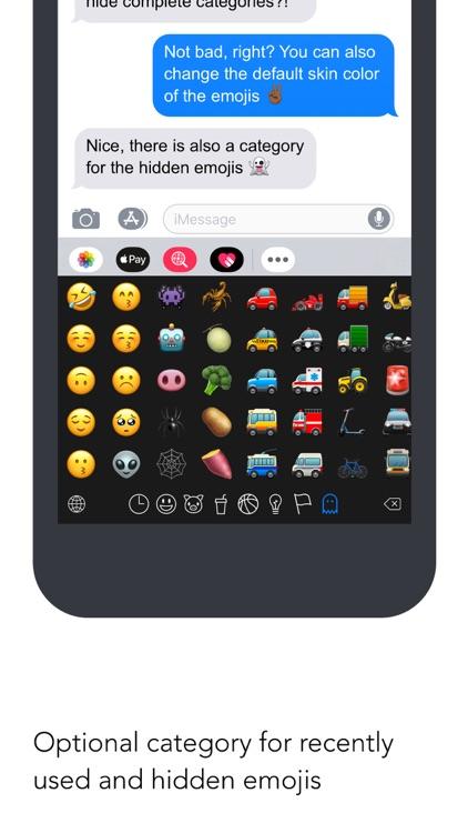 Smojis – The Emoji Keyboard screenshot-3