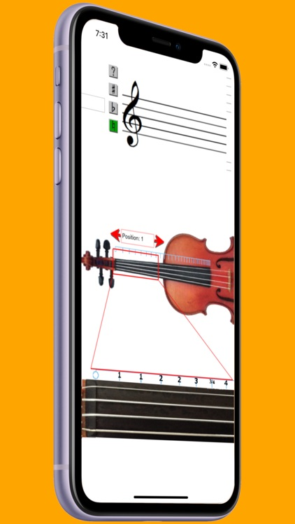 Violin Note Finder