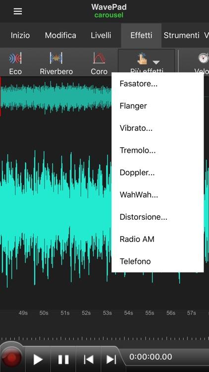 WavePad Professionale screenshot-4